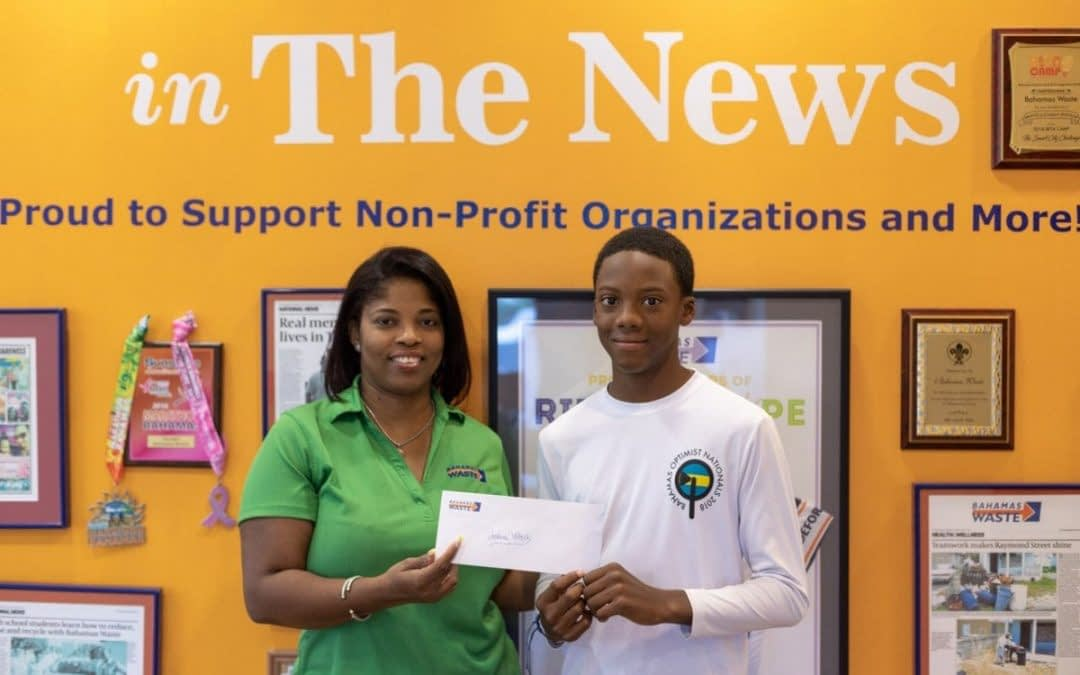 Weech makes Sponsor Bahamas Waste Shine at International Sailing Competition